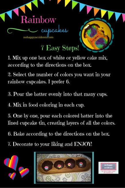 rainbow cupcakesblack_nohappyaccidents
