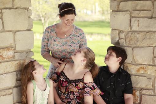 mom, three kids, love, parenting, motherhood